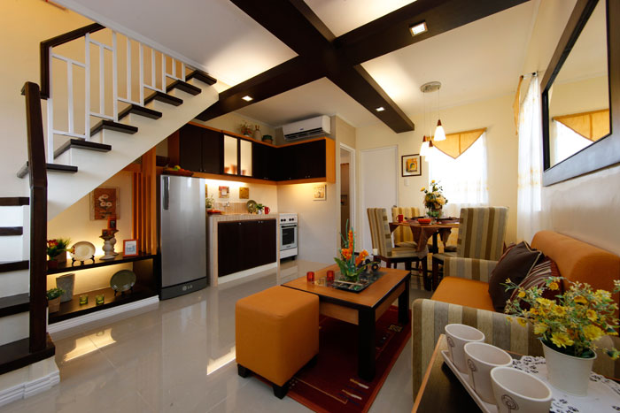 Camella carcar can asujan car car city cebu cebu for Living room interior philippines