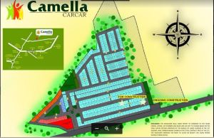 Camella carcar map Sept. 2017