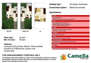 Camella carcar marga floor plan june