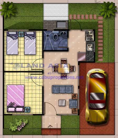 Chilsea Floor Plan Cebu Sweet Homes