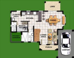 Murano House Model Ground Floor Plan