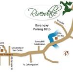 Riverdale Talamban Location map