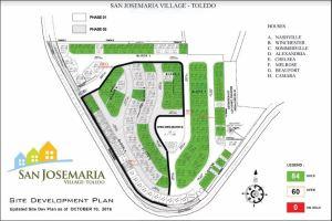 San Jose Maria Village Toledo map march