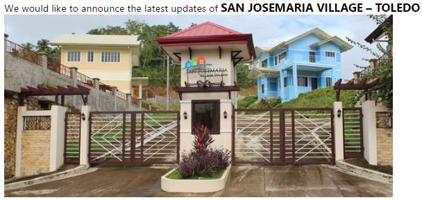 San Jose Maria Village Toledo City Cebu Cebu Sweet Homes