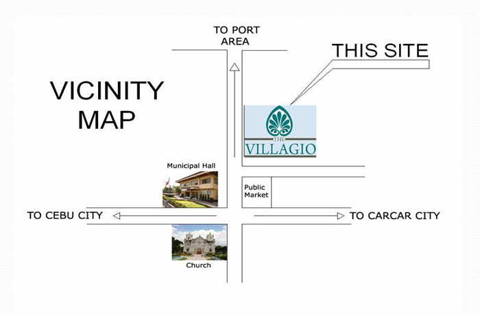 vILLAGIO VICINITY MAP