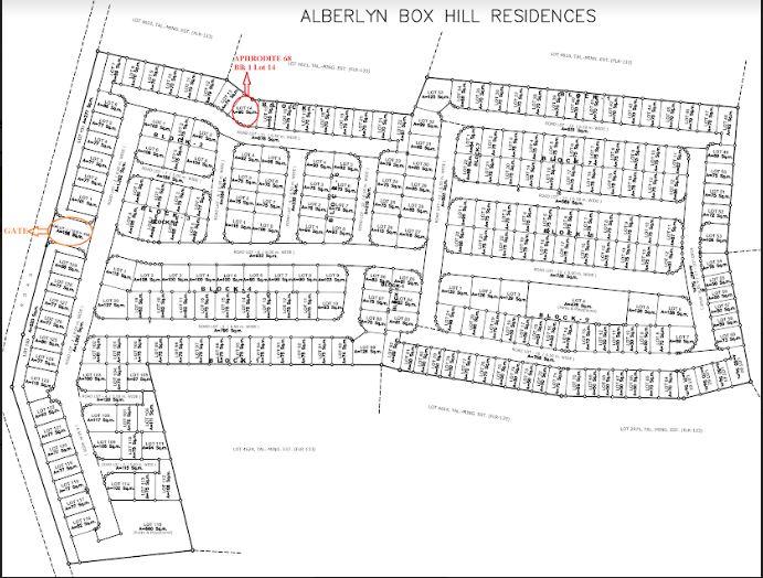 Alberlyn Box Hill map June 2018