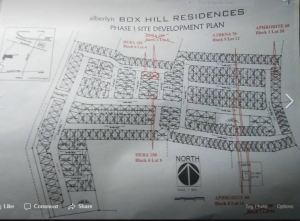 Alberlyn Box Hill map feb. 2018