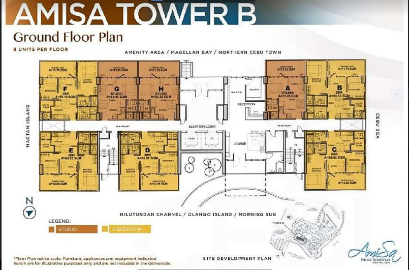 Amisa Tower B floor plan 1