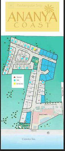 Ananya Coast map