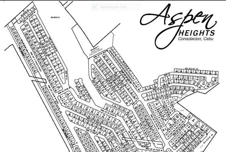 Aspen Heights map 1