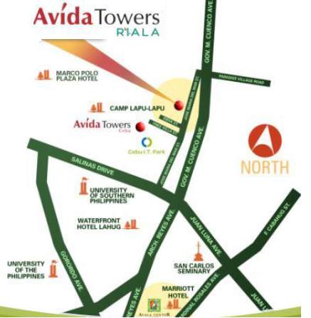 Avida Site location