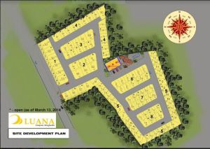 Luana Homes site development plan Sept. 2017