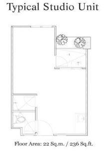 Mabolo Garden Flats studio