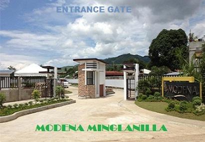 Modena entrance
