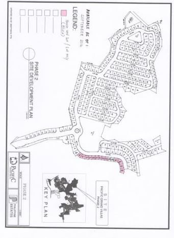 Pacific Grand Villas map jan entire