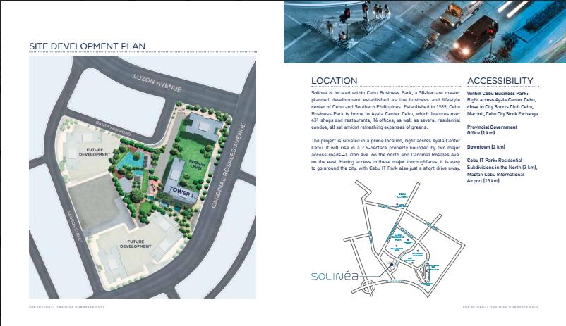 Solinea development plan 2