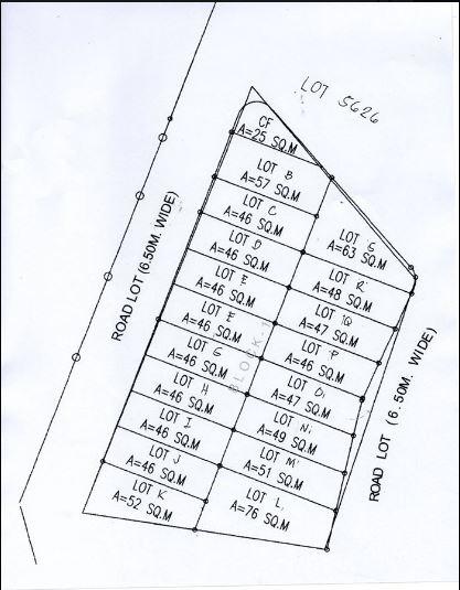 Villa Azalea phase 2 C map jan. 5, 2020