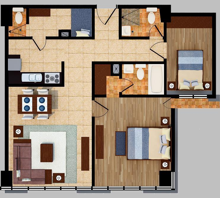 twobedroom unitf