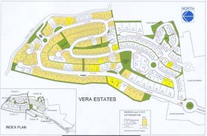 vera Estate map Sept. 2017