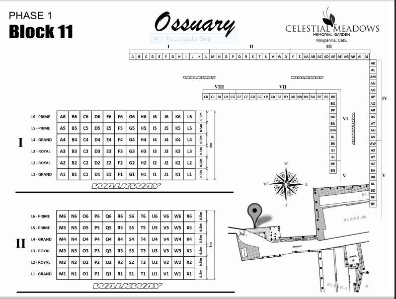 Celestial Ossuary floor plan