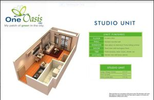 One Oasis studio