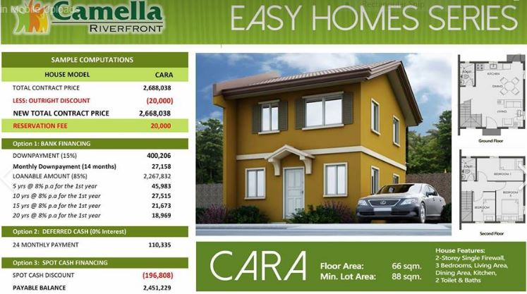 Camella Homes Riverfront In Talamban Cebu City Cebu