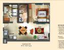 Soltana floor plan 2 bedroom 2