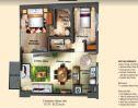 Soltana florr plan 2 bedroom
