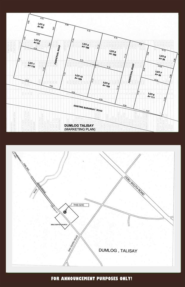 Tali residences map