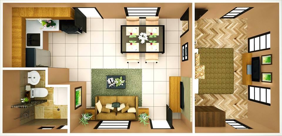 Courtyards Brookridge 1 Bd Rm Cebu Sweet Homes