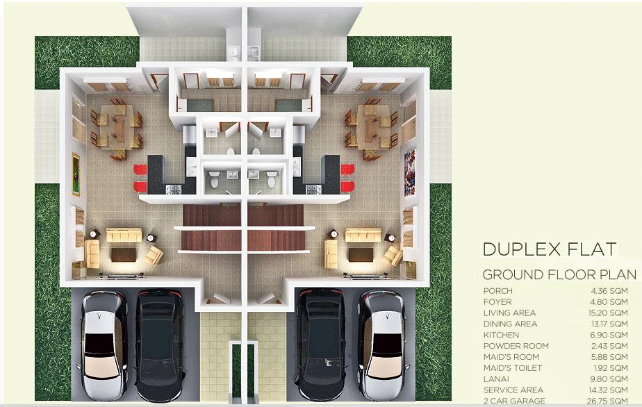 Pristina North duplex flr pln