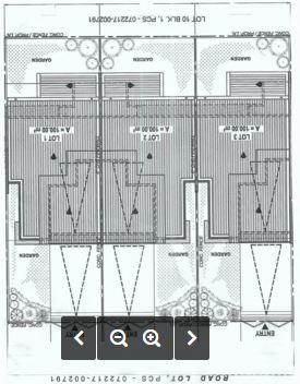 Pristine Groove triplex floor plan