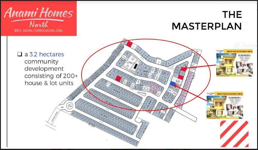 Anami Homes North Master plan
