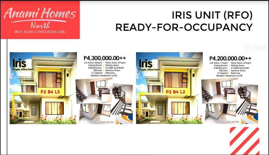 Anami Homes North RFO Iris