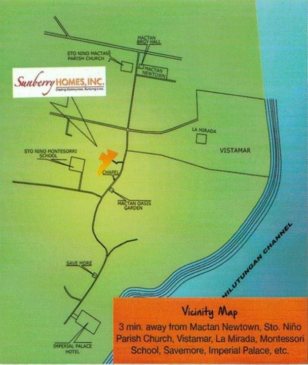 Sunberry Homes Vicinity map