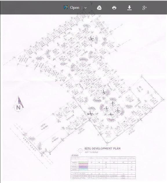 South City Homes Tungkop map