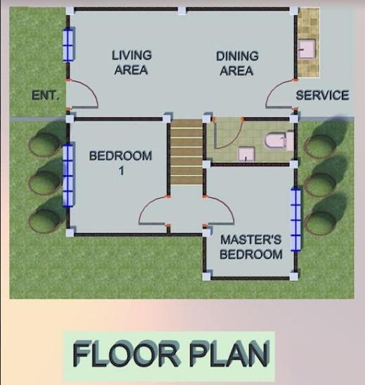 Villa Purita Hilda 3 floor plan