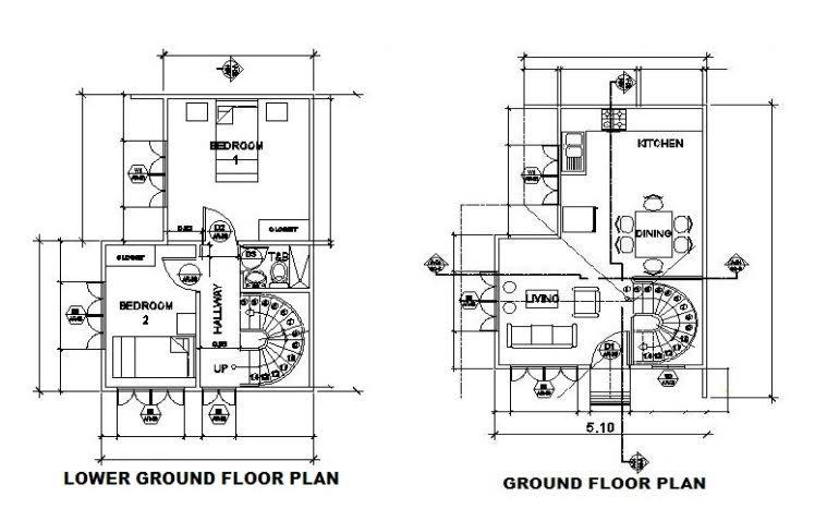 Villa Purita dos Johanna floor plan