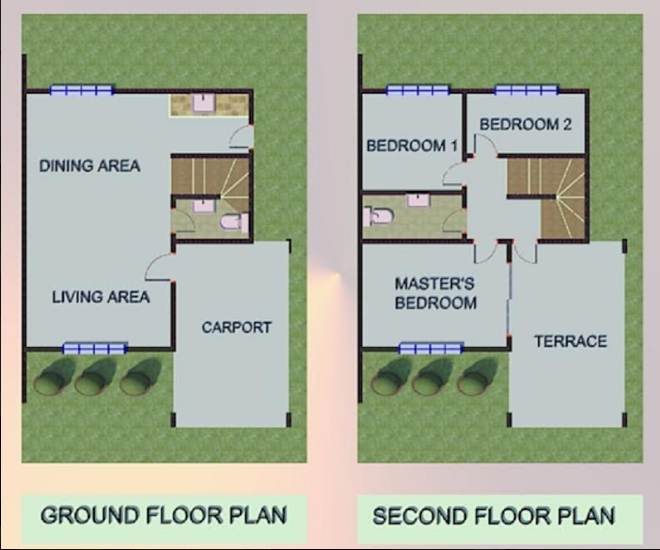 Villa Purita dos Karen 1 floor plan