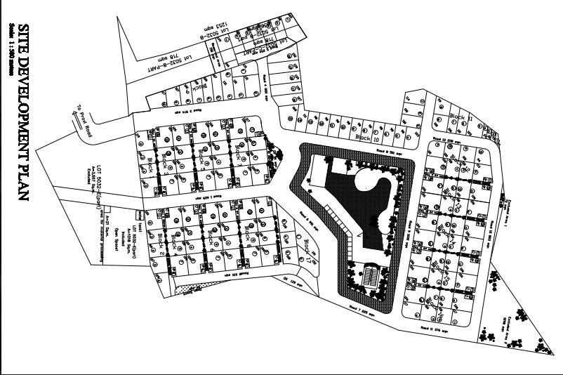 Villa Purita dos map