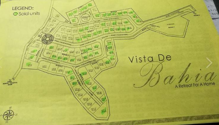 Vista de Bahia map march 2019