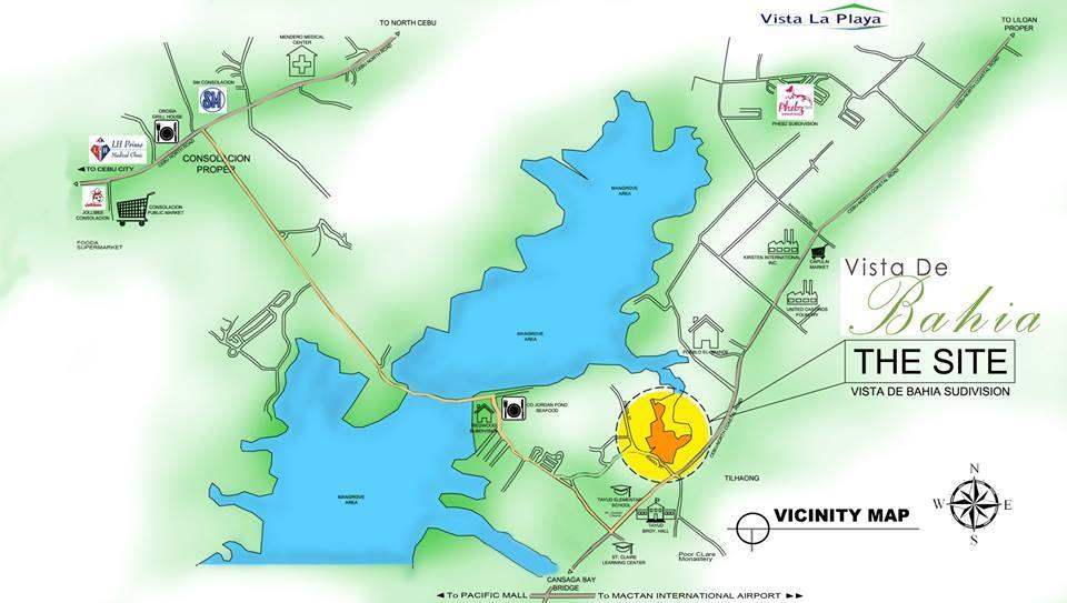 Vista de Bahia site plan