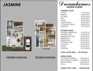 Guada PLains Jasmine floor plan