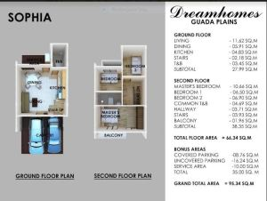 Guada Plains Sophia floor plan