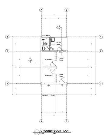 Casa Cierro flr plan 1