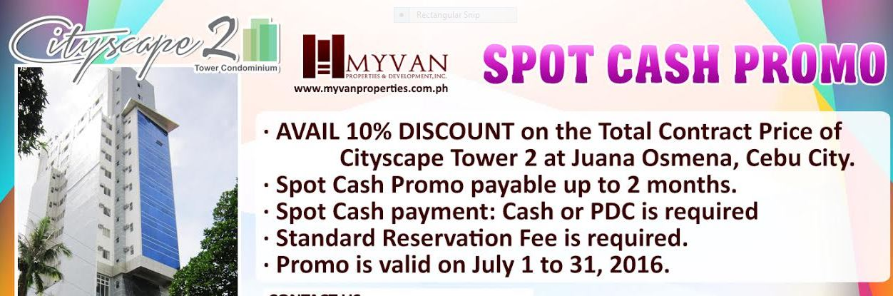 Myvan cityscape tower 2 promo