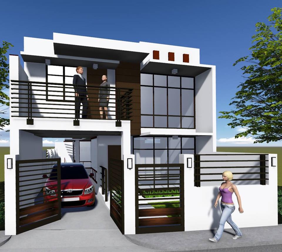 Ready for occupancy house in metropolis talamban cebu for House designs zen type
