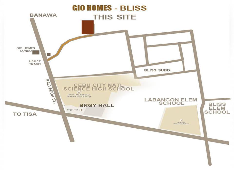 Gio Homes Labangon site plan