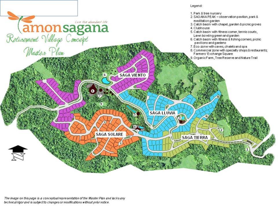 Amonsagana Subdivision map