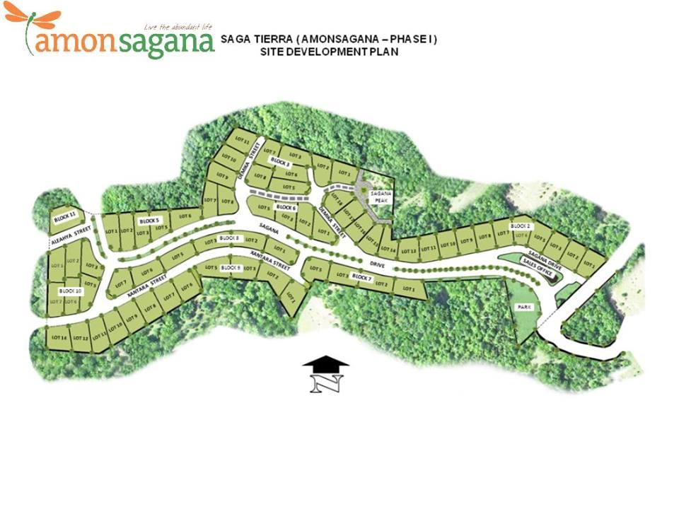 Amonsagana map